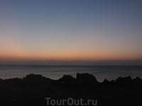 Последний рассвет на острове
