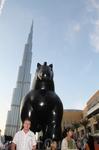 Открытие знаменитой башни, показывали по всем основным мировым каналам. Бурж Дубаи. Называлось так до дня открытия, 3 января. С этого дня называется как Burj Halifi (Бурж Халифы) в честь шейха Абу-Даб