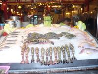 Огромные свежие креветки
