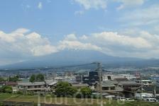 проезжаем гору Фудзи