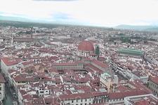 Вид с купола Дуомо.