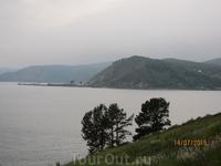 Байкал, здесь Ангара вытекает из Байкала