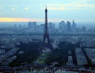 Вид на Париж с башни Монтпарнасс