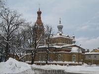 Пяону. Православная церковь