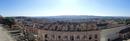 Вот такая панорама открывается с площади, где установлена башня. Слева видны остатки древней крепостной стены.