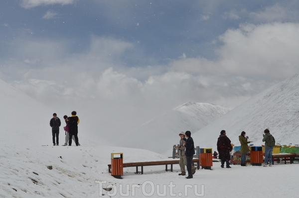 перевал .Высота 5190 м