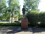 Оулу. Памятник финскому писателю Теуво Паккала.