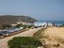 Дорога на пляж Амадо,недалеко о Алжезура