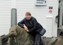 Об этом ничуть не пожалели, т.к. было интересно как внутри, так и снаружи музея. Да и на Тролльфьорд через день смогли налюбоваться, как только погода ...