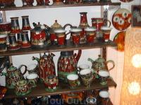 керамика - кое-что купили домой - hand made