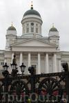 Вот он самый известный Кафедральный собор Финляндии