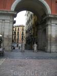 Проход на  Plaza Mayor