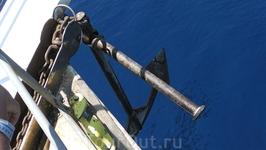 Во время путешествия по 4-ем бухтам Эгейского моря - якорь не игрушечный