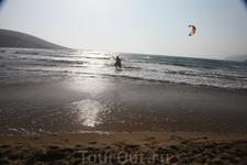 Место слияния двух морей - Эгейского и Средиземного