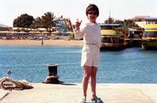 На пирсе отеля Sindbad Beach Resort