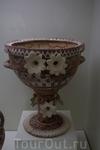 Большая украшенная ваза, 1800-1700гг до Р.Х., раннедворцовый период.Ираклионский Археологический музей.