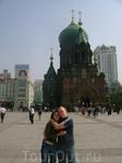русская церковь, но почему-то закрыта