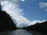 Предгорья Южного Урала. Небольшой перевал