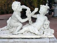 Скульптуры в Ла Гранхе.