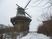 в XVIII в в городе поселяются голландские переселенцы,что дает толчок расцвету мануфактур.Мельница так и называется -голландская.
