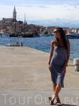 Из всех городов Истрии, в которых я побывала, Ровинь понравился больше всех