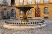 Фонтан  Д'Альбертас, на одноименной площади.