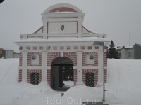 Пярну. Таллинские ворота (самая древняя постройка города)