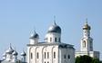 Великий Новгород. На реке Волхов. Свято-Юрьев монастырь