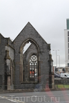 Разрушенная церковь на выезде из Плимута.