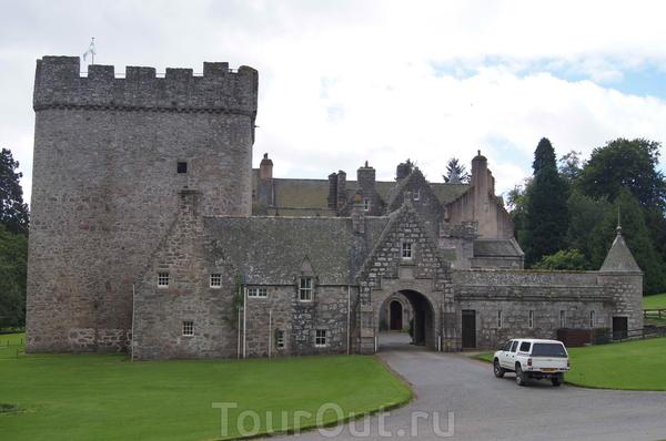 Замок Драм. Башня