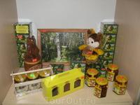 В гостином дворе. Сувениры. Башкирский мед с орехами и вообще с чем хочешь