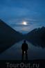 Луна над Мультинским озером