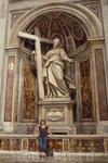Скульптура Святой Елены,матери императора Константина . Важнейший эпизод в ее жизни-она видела сон,что ей надлежит найти крест,на котором был распят Иисус ...