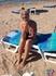 На пляже в Каннах