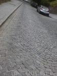 Улица с крутым уклоном.