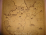 Карта почтовых трактов Санкт-Петербургской губернии 18 века в Выре. Знакомые все места.