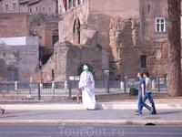 Живые статуи Рима