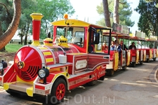 До г.Пореч можно доехать на туристическом паровозике, делающем остановки у каждого отеля.
