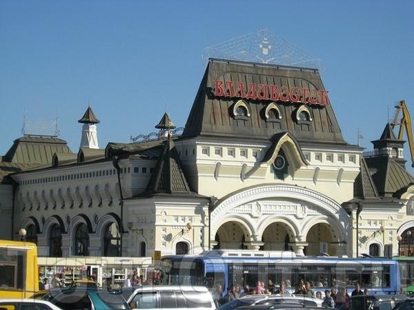 Железнодорожный вокзал Владивостока Фото 7 отчёта Владивосток ...