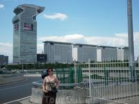 Гостиница,построенная специально для Олимпиады 2008.