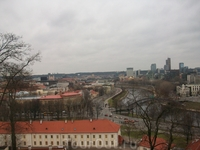 Вид с башни Гедеминаса.