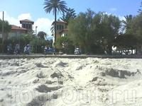 пляж в Монделло