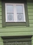 Мило оформленные окна в доме старого города