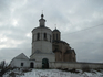 """церковь Архангела Михаила (Свирская). Видна колокольня и кусочек самой церкви. Эта церковь была монастырской, но при поляках монастырь """"пропал"""", а церковь ..."""