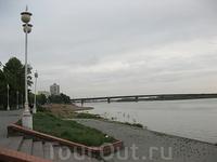 Омск. Набережная Иртыша