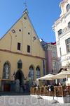 Здание Большой гильдии XV века, здесь располагается Эстонский исторический музей