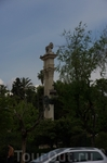 Севилья. Памятник Колумбу.