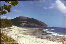 пляж, вид на крепость