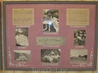 Фотография 1910г С.Рахманинова за работой в Ивановке. Дочери Татьяна и Ирина. За игрой в теннис в Ивановке.
