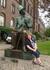 У памятника Г.Х.Андерсену